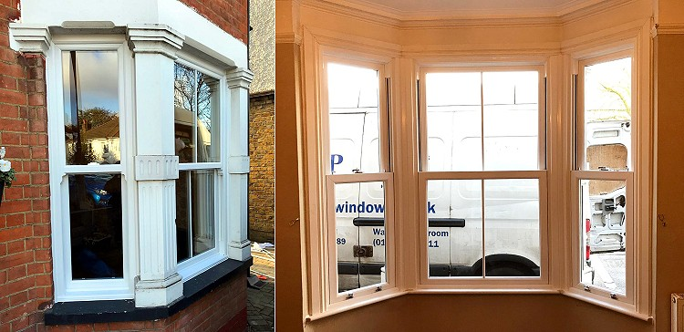EcoSliders sash windows installed by Harp