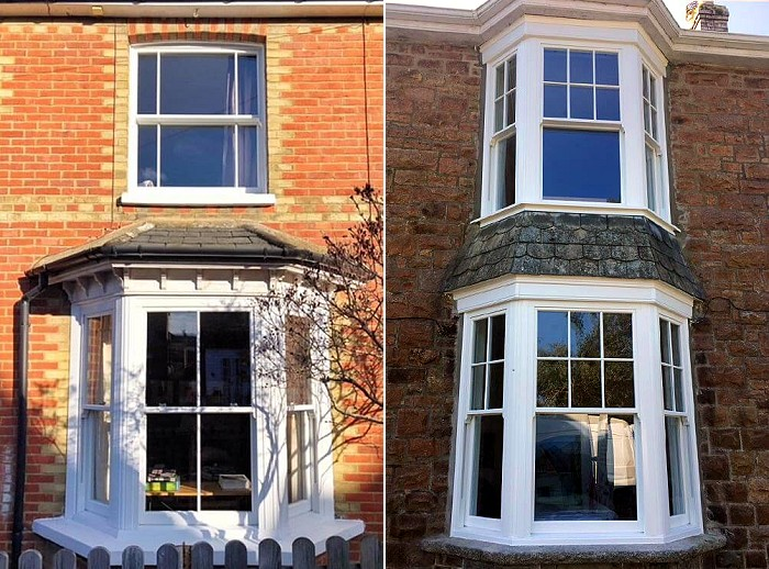 Ultimate Rose uPVC sash windows incorporate many authentic style features